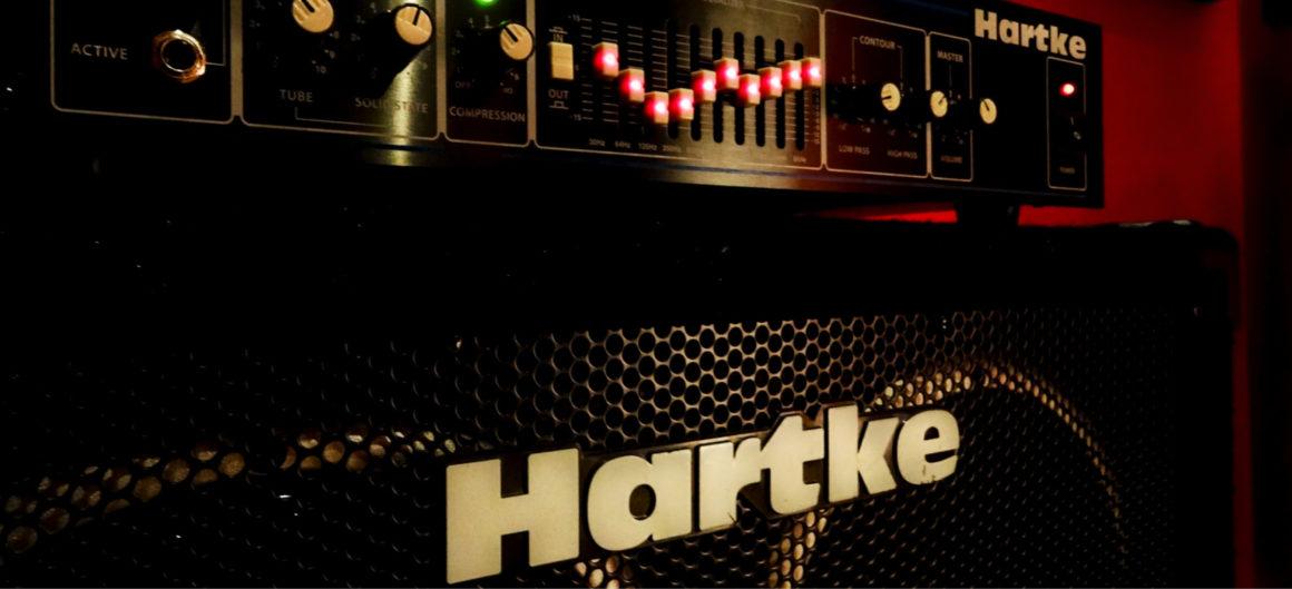 Sala 3 amplificatore Hartke