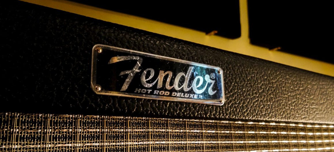 Sala 2 amplificatore Fender hot rod deluxe